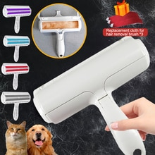 2-Way Pet Hair Remover Roller Dog Cat Hair Cleaning Brush From Furniture Reusable Pet Fur Dust Remov