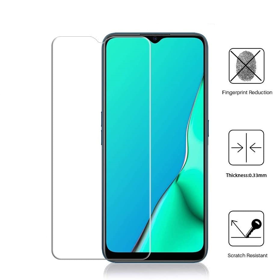 Tempered Glass For OPPO A8 Glass 9H 2.5D Protective Film Explosion-proof Clear LCD Screen Protector