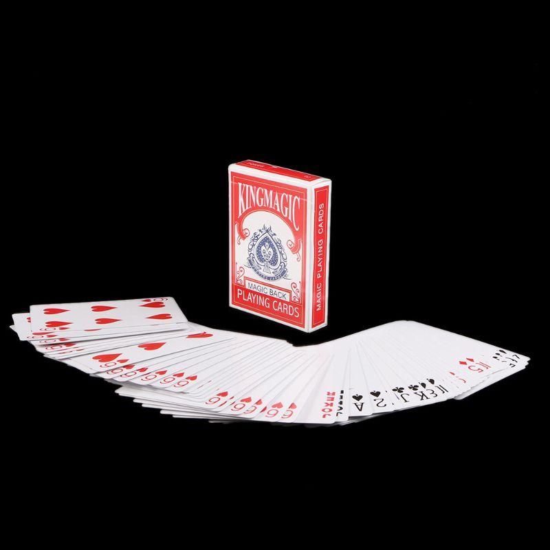 Svengali Deck Playing Card Magic Cards Playing Cards Poker Magic Tricks Close-up Street Magic Trick Kid Child Puzzle Toy magic cards svengali deck atom playing cards poker card games close up stage magic tricks props for magician