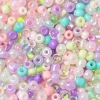 charm czech glass seed beads 234mm mix color round hole spacer beads for diy bracelet earring necklace jewelry making