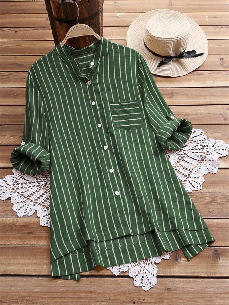 Spring Autumn Striped Maternity Nursing Blouse Long Sleeve T-Shirt Loose Pregnant Women Breastfeeding Blouse Pregnancy Clothings