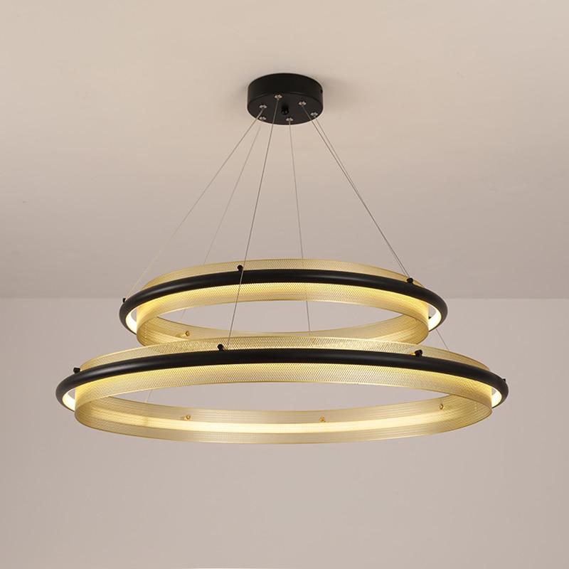 Suspension moderne luminaire fer chambre salon luminaire suspendu suspension