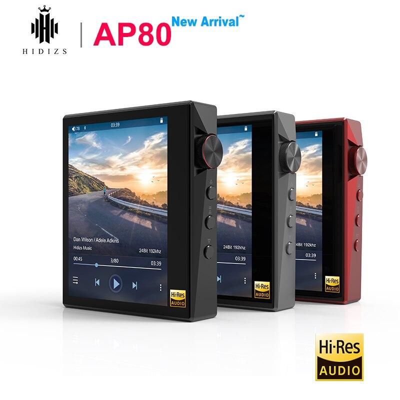 Hidizs AP80 مرحبا الدقة ES9218P بلوتوث MP3 لاعب HIFI ضياع الموسيقى LDAC USB DAC DSD FM راديو HibyLink DAP FLAC الصوت لاعب