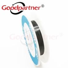 1X Goodpartner fotokopi yazıcı parçaları 0.08mm CORONA tel elektrot Tungsten tel Samsung Kyocera HP Xerox EPSON CANON Ricoh