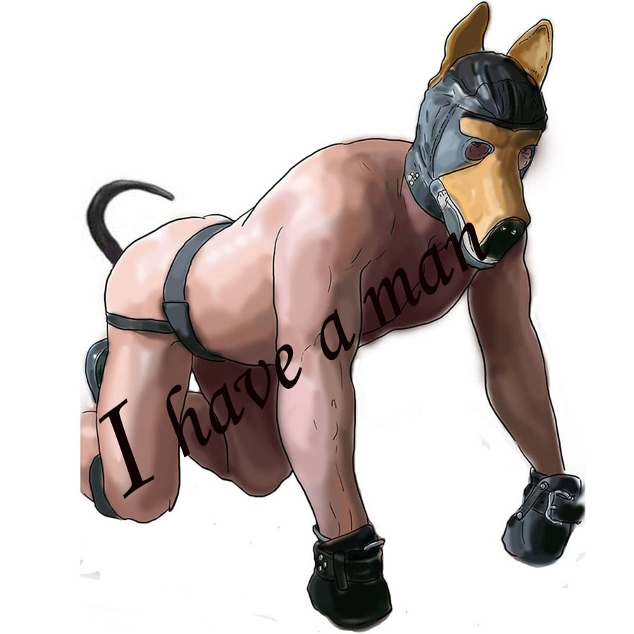 Cão roleplay puppy play, máscara de capa de cão de couro, luva de pata do cão, conjunto de escravidão de rastreamento, plugue de bunda da cauda do cão, brinquedos anal traje sexy