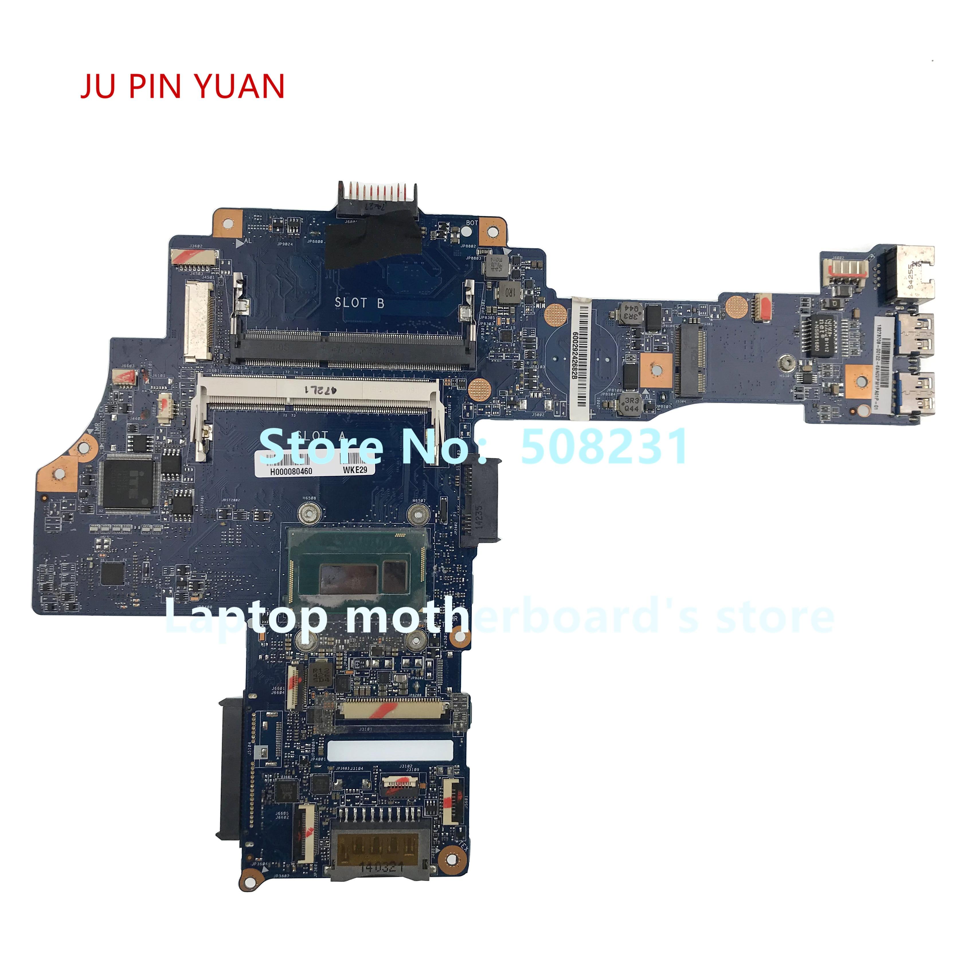 CA10SU/CU H000080460 بلاكا قاعدة الفقرة توشيبا E45T-B L45T-B S40-B i3-4005U 30pin Completamente Probado ، Correcto