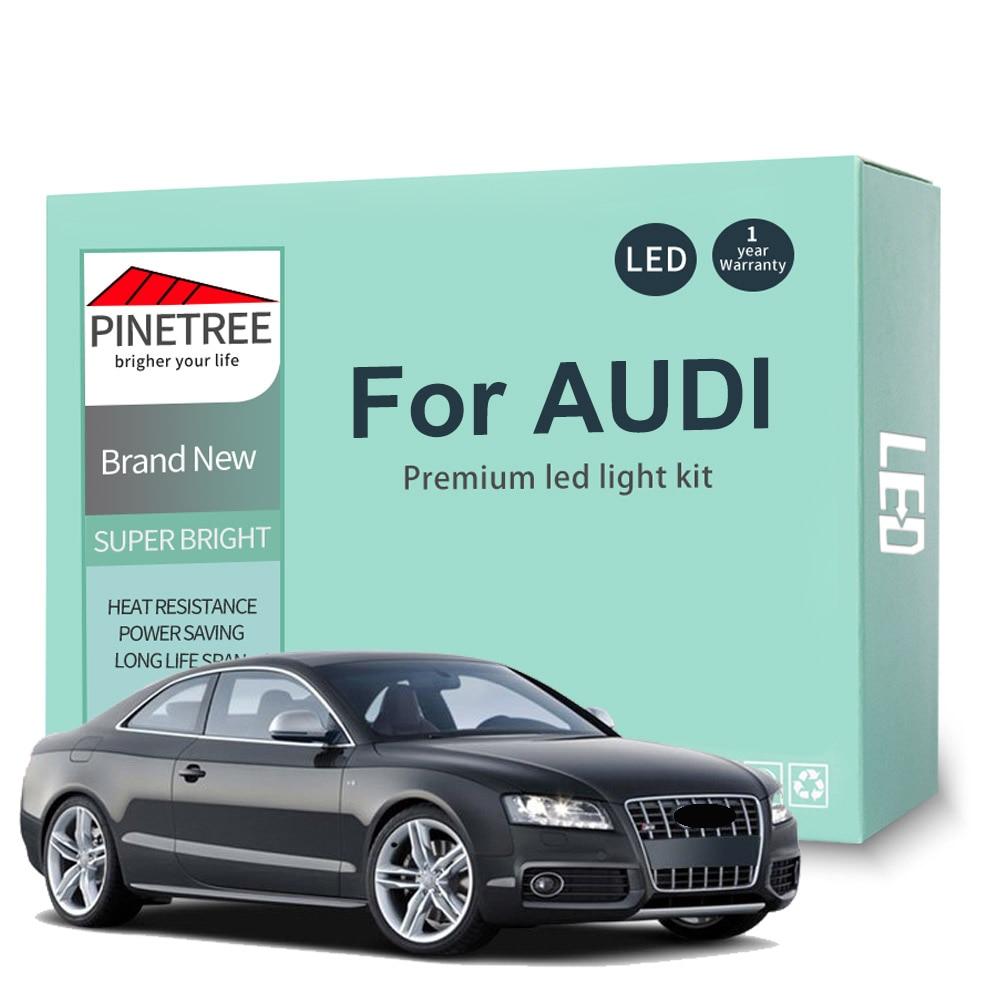 Комплект светодиодной внутренней подсветки для Audi A3, 8L, 8 в, 8P, A4, B5, B6, B7, B8, A5, A6, C5, C6, C7, A7, A8, D2, D3, Q5, Q7, без ошибок