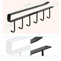 hanger iron hooks kitchen shelf free of punch rack multifunction hanger for kitchen gadgets tableware storage hook for kitchen