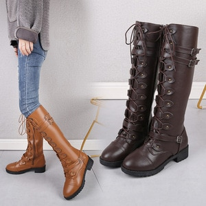 2020 Sexy Slim Women's Wedges Over The Knee Boots Brand High Heels Platform Boots Slip on Winter Boots Shoes Woman Boot
