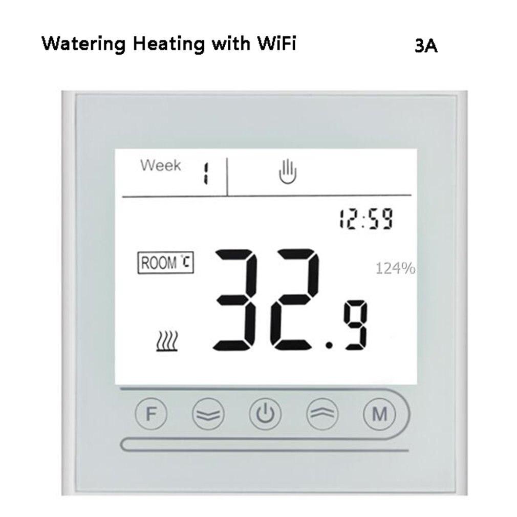 واي فاي الذكية ترموستات التدفئة الكهربائية تحكم في درجة الحرارة للغاز المرجل اليكسا جوجل المنزل منظم الحرارة