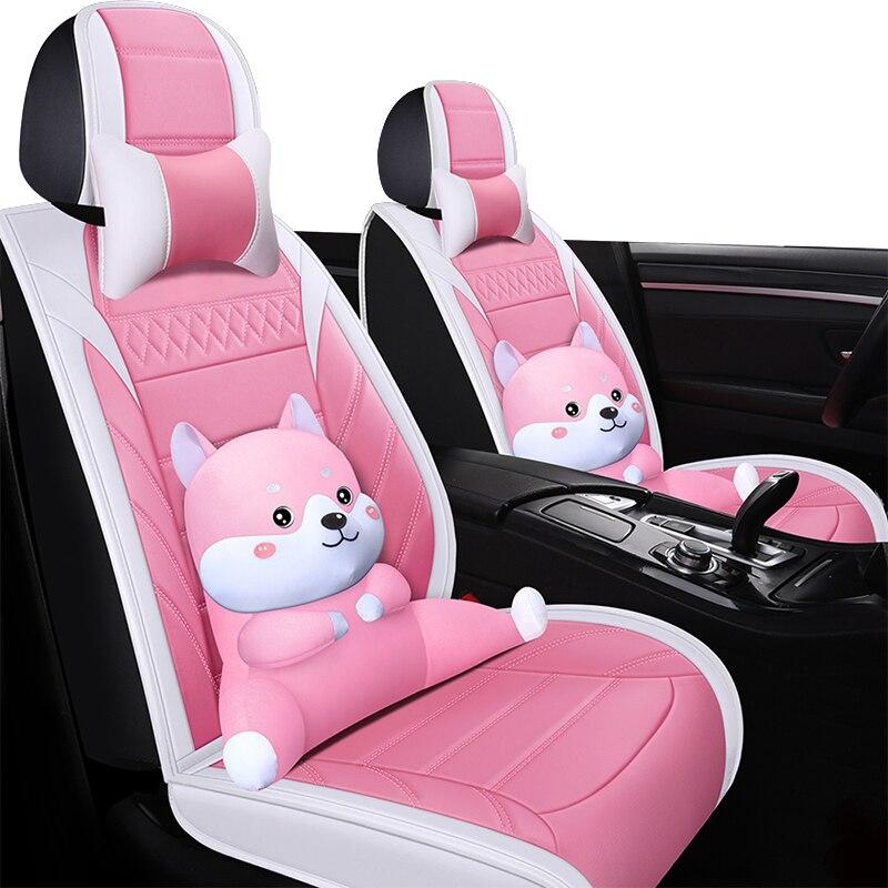 Negro cubiertas de asiento de coche para bmw e39 f10 e60 f30...