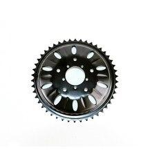 46T chainwheel for bafang 8fun mid drive motor BBSHD/BBS03 chain ring sprocket wheel crank set