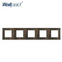 5 wood frame wallpad wood design frame metal material 43086mm frame only