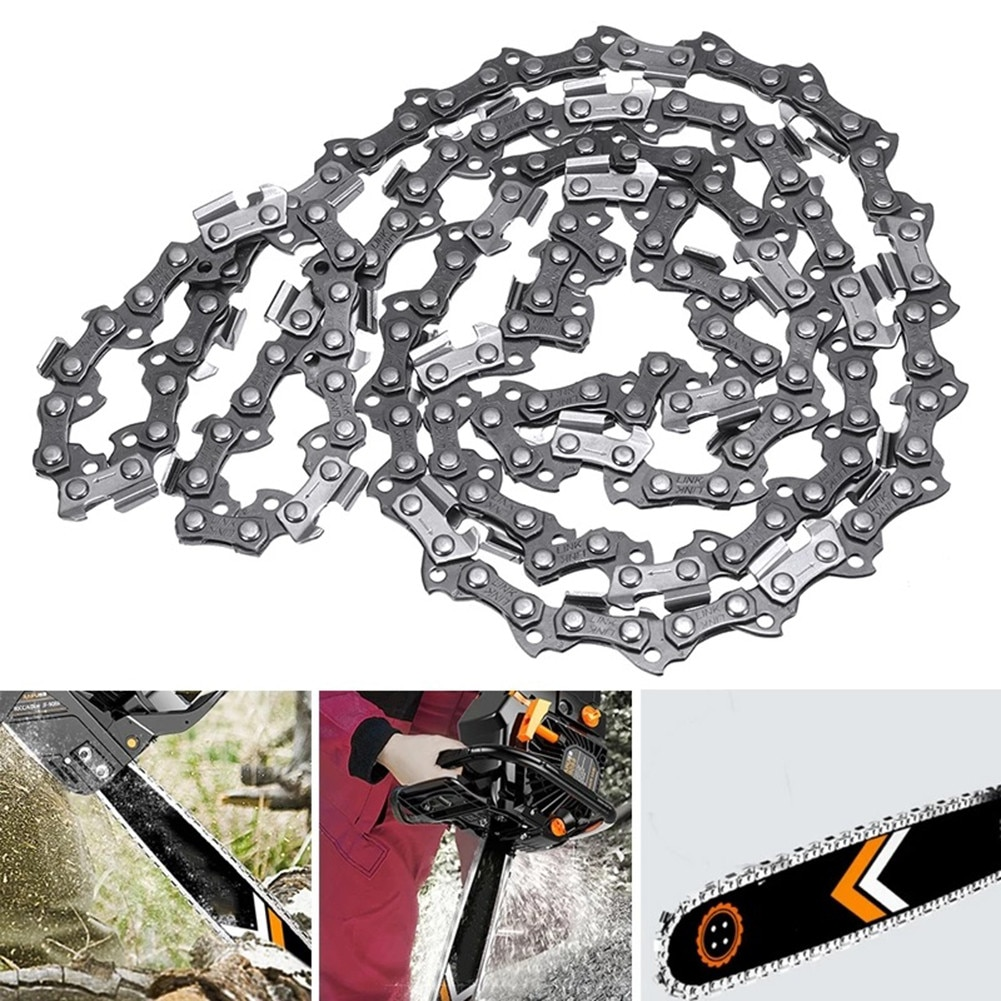 20inch Chainsaw Chain Blade 0.325\LP Pitch 0.058 Gauge 78DL Drive Link Saw Chain Electric Pruning Saw Accessory Garden Tool electric chain saw huter els 2000p flat blade chainsaw link tooth saw chain cutter cross cut saw