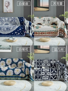 Sofa Cover Cotton Linen Sofa Towel Slipcover Sofa Covers for Living Room Couch Cover funda sofa Protect Furniture 1/2/3 seater