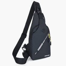 Men Crossbody Bags Small Sling Men's Chest Bag Shoulder Water Resistant Travel Bag for man with Earp
