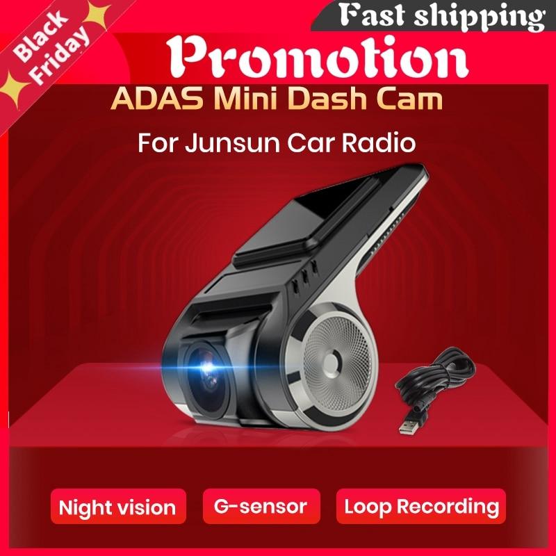 Car Camera Dashcam Adas Mini Car Dvr Camera Hd Ldws Auto Digital Video Recorder Dash Cam For Android Multimedia Player