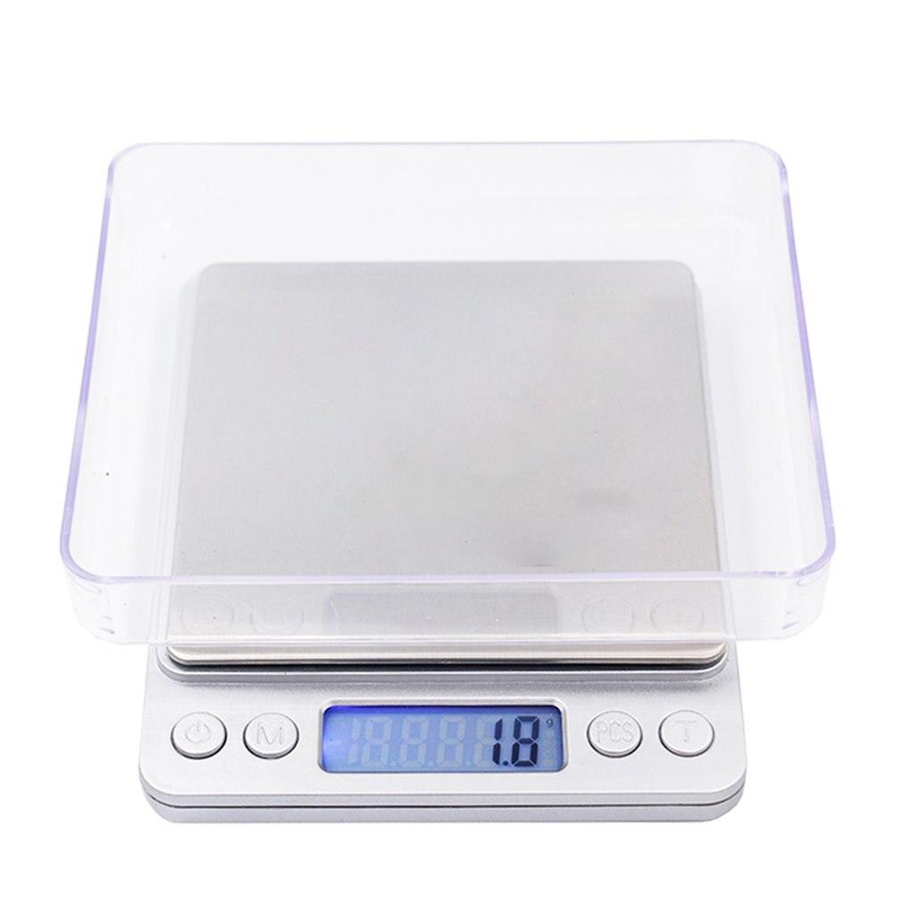 Báscula de Cocina Digital LCD de 3Kg y 0,1G, balanza de peso electrónica de gramos, báscula Sf-400A para hornear té, báscula Digital