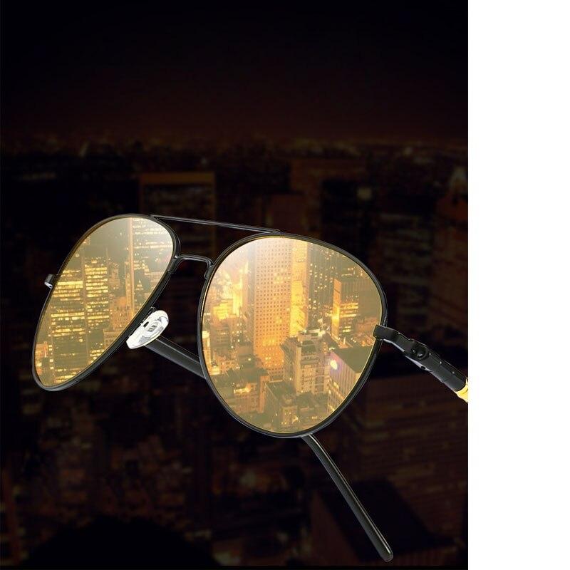 Gafas de visión nocturna, controladores especiales para visión nocturna para conducción, gafas de noche antideslumbrantes, espejo de conducción polarizado luminoso