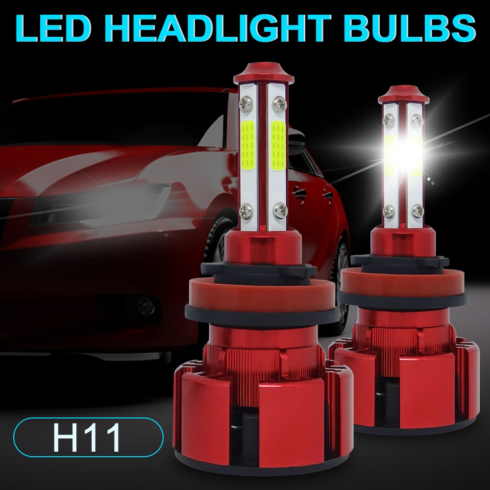 2PCS Mini 110W 12000LM H11 9006 HB4 9005 HB3 Car LED Headlight Bulbs 9012 H7 H8 H9 Headlight Kit for Bulb Fog Led Lights For Car