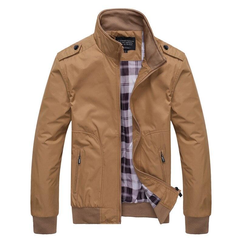 Мужские Винтажные куртки с высоким воротником на осень и зиму, роскошная модная повседневная куртка, уличная одежда, спортивная одежда боль...