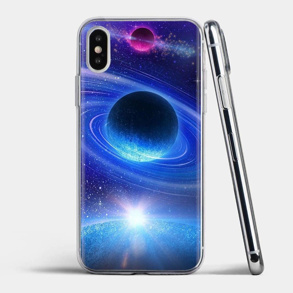 Adorable del teléfono de silicona funda para Samsung Galaxy S6 S10E S10 borde Lite Plus Core gran primer alfa J1 mini genial profundo Espacio Azul