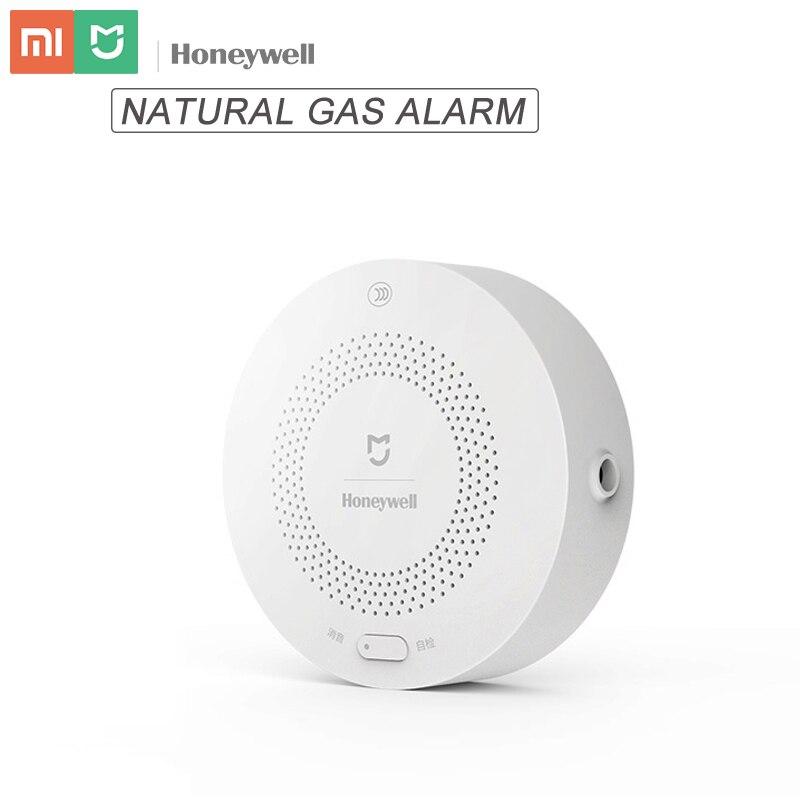Original mijia honeywell detector de alarme gás natural aqara zigbee ch4 controle remoto monitor sistema segurança para xiaomi mi casa