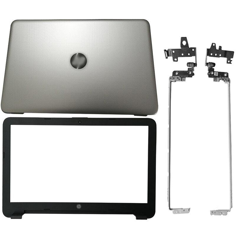 Nouveau portable LCD couverture arrière/lunette avant/charnières pour HP 250 255 256 G4 15-A 15-AC 15-AF 813925-001 816731-001 813926-001 813930-001