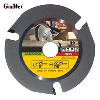 ganwei 4 5in 5in angle grinder wood carving disc circular saw blade wood carving disc for angle grinder woodworking tool