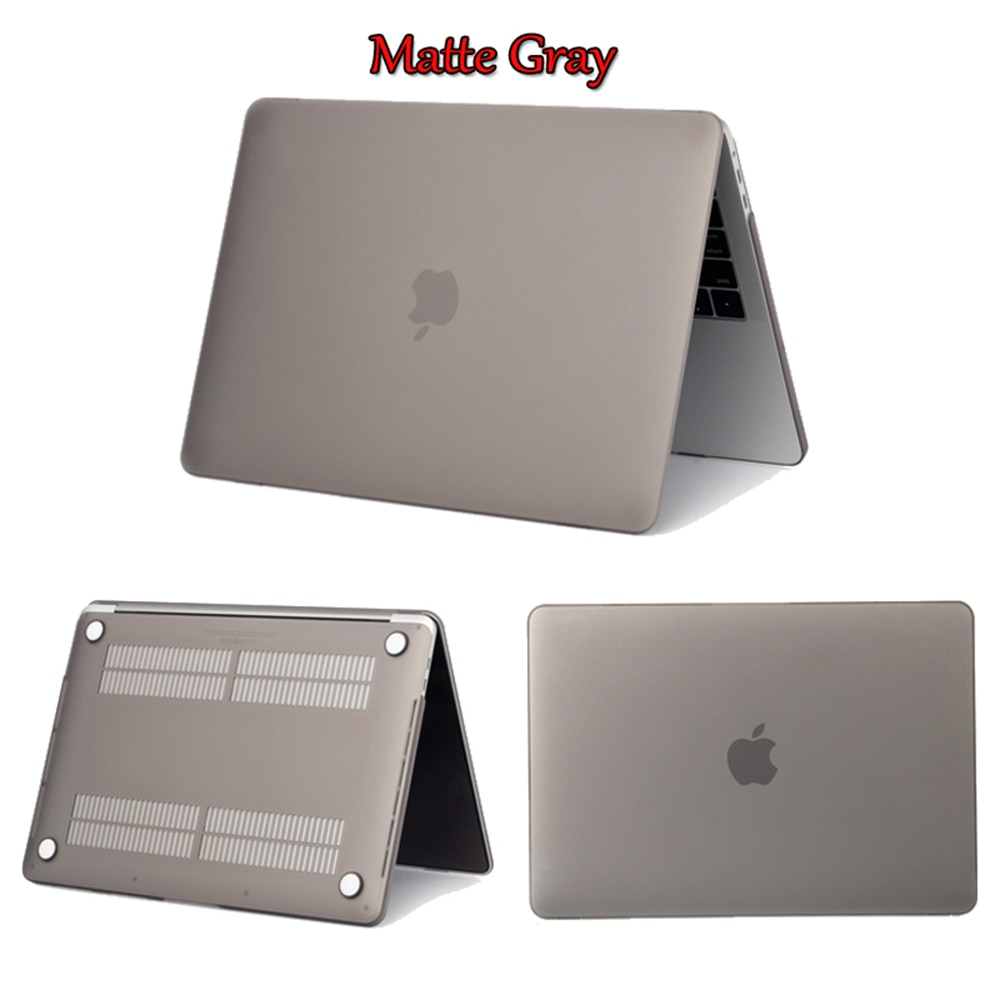 Crystal Transparent Laptop Case For Apple MacBook Pro Retina Air 11 12 13 15 16 for mac book Air 13 New Pro 13.3 15 inch shell