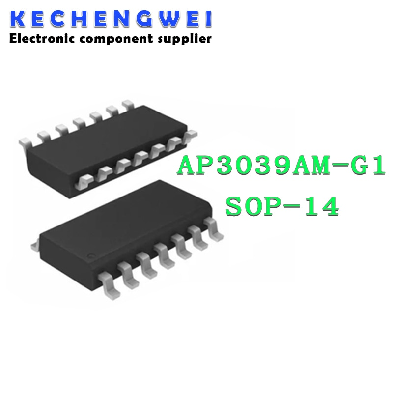 5pcs AP3039AM-G1 SOP-14 AP3039AMTR SOP14 AP3039 SOP AP3039AM new original as358m e1 as358m g1 sop 8
