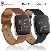 Новый модный сменный ремешок для часов, кожаный ремешок для наручных часов, ремешок для часов Fitbit Versa 2/ Lite, браслет для часов