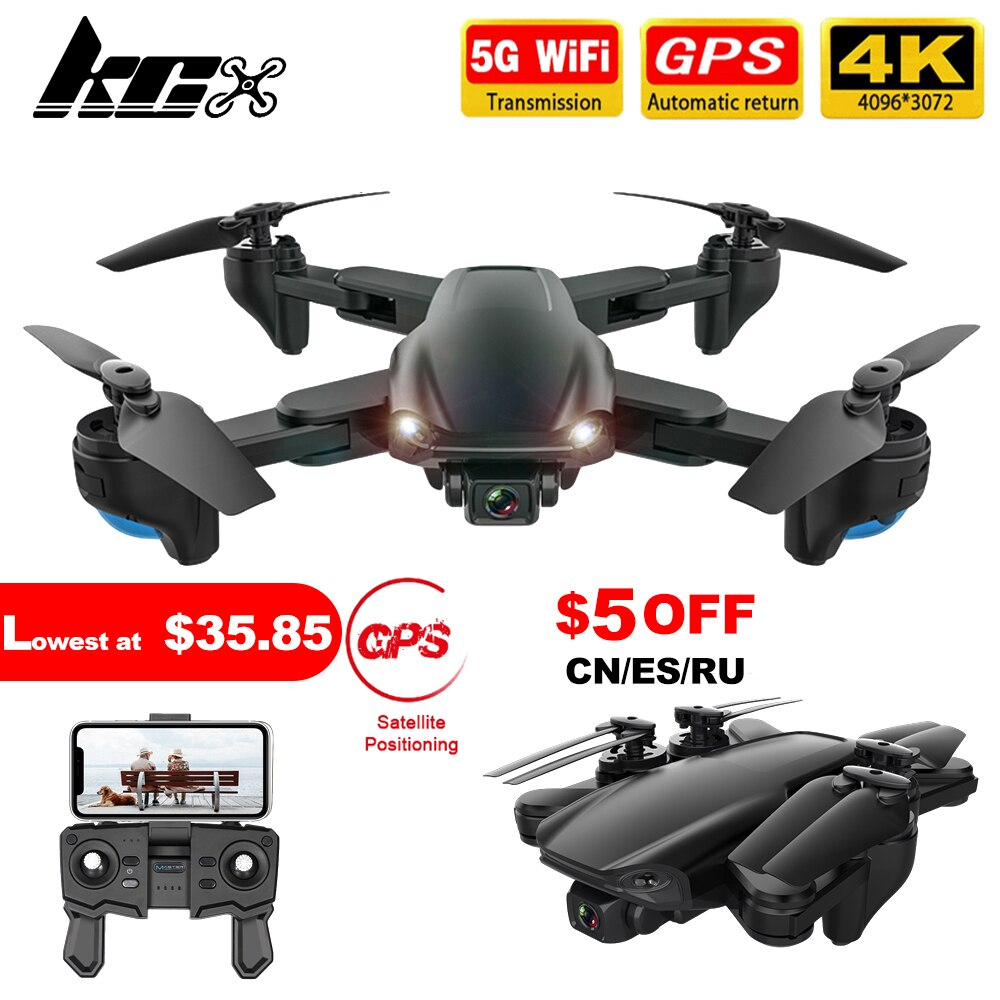 aliexpress.com - KCX SG701S Drone with Camera 4K Hd GPS Professional 5G WiFi FPV Altitude Hold Foldable RC Quadcopter Mini Dron PK SG907 E520S