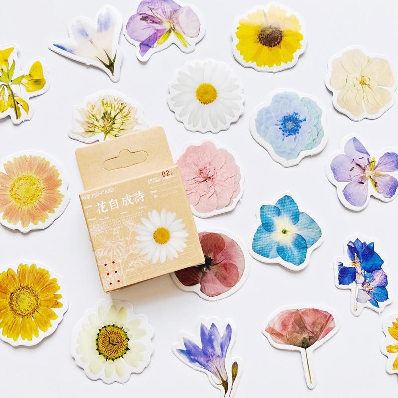 46-unids-caja-flores-poesia-pegatinas-de-papel-para-decoracion-bricolaje-album-diario-etiqueta-engomada-de-la-etiqueta