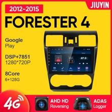 JIUYIN Android 10.0 Car Radio For Subaru Forester 4 SJ 2012 - 2015 Car Multimedia Video Player Navig