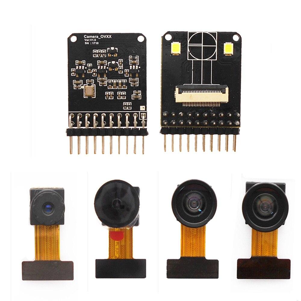 OV5640 OV2640 kamera modul test baseboard verlängerung kabel Dual LED füllen licht STM32 upgrade version OV2640 adapter board