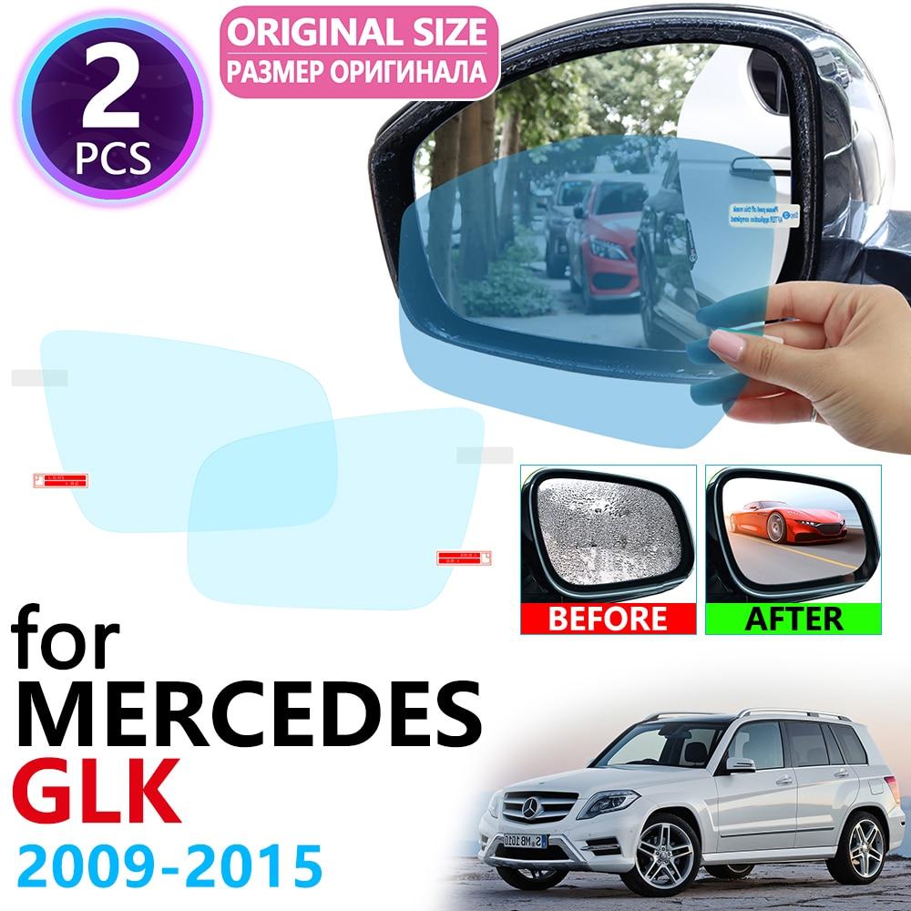 for Mercedes Benz GLK x204 GLK280 GLK300 GLK350 GLK220 GLK250 300 220 250 Full Cover Anti Fog Film Rearview Mirror Accessories