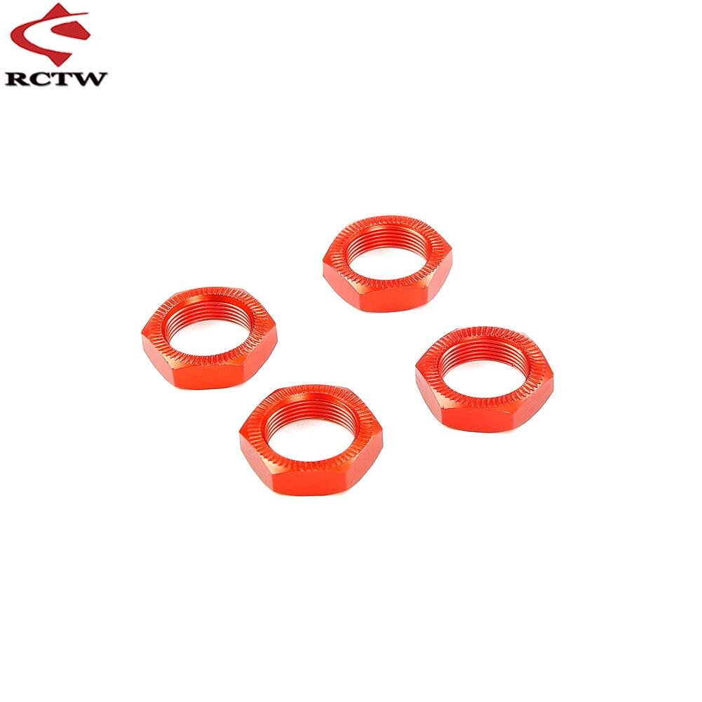 Tuerca de rueda de Metal para 1/5 HPI ROVAN BAJA KM 5T 5B 5SC ROFUN BAHA RC, piezas de neumáticos de coche