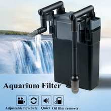 Aquarium Fish Tank External Filter Oil Film Remover Surface Skimmer Mute Water Filtering Aquarium Fish Tank Filtration System
