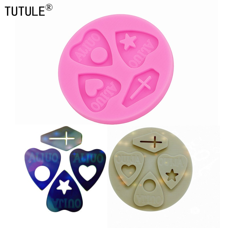 Gadgets,Shiny Glossy Cross Silicone mold,Resin Crafting Flexible Silicone Mold,Keychain Epoxy Resin earring Polymer Clay Mold
