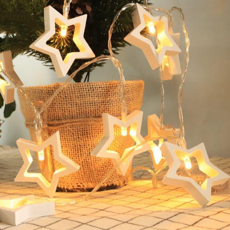 MIFLAME-guirnalda de luces LED de 1,5 M 3M AA luces de Navidad......