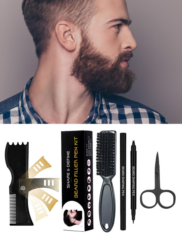 pencil drawing techniques and articles 100 kinds of flower Beard Filler Pencil Kit Portable Barber Pencil and Brush Kit for All Kinds Of Beards A Good Gift for Boyfriend and Husband