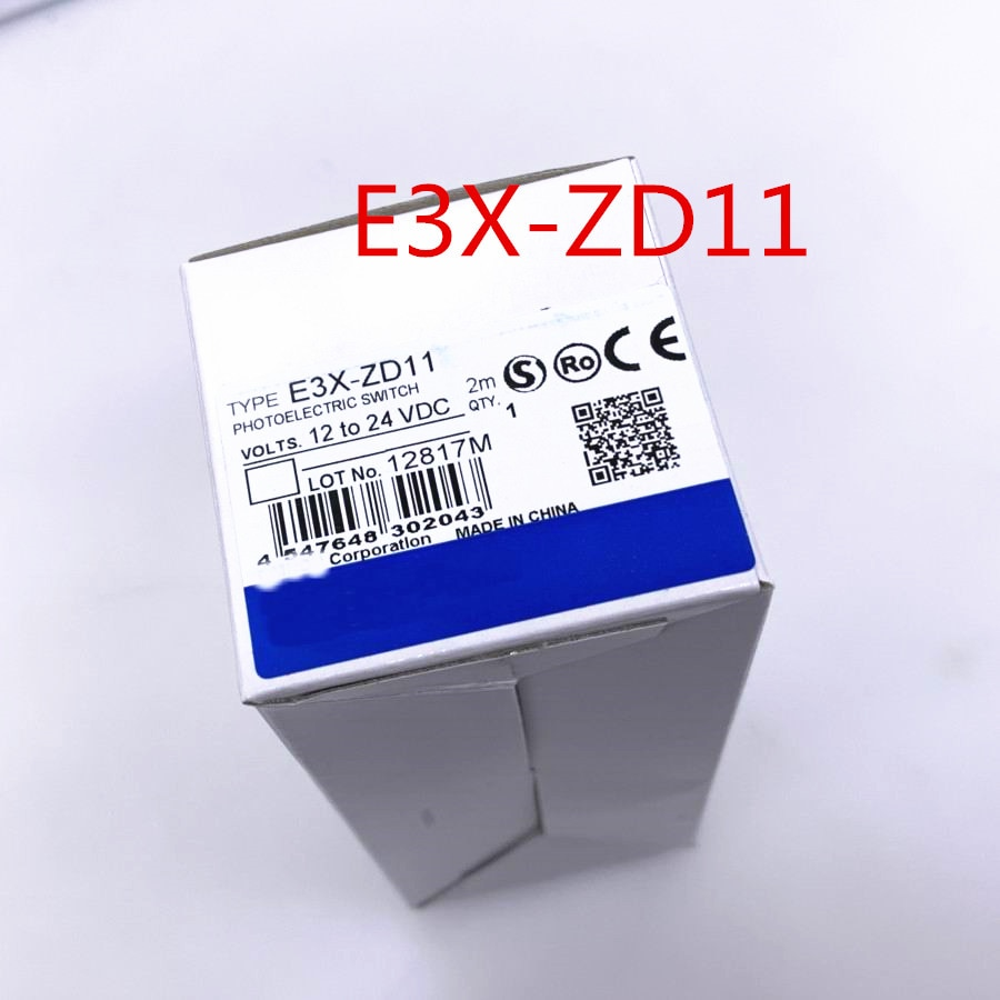 Original New E3X-ZD11 ZD41 E3X-NA11 NA41 E3X-HD10 HD11 HD41 E3X-NA11V E3X-NA41V Optical Fiber Amplifier Sensor