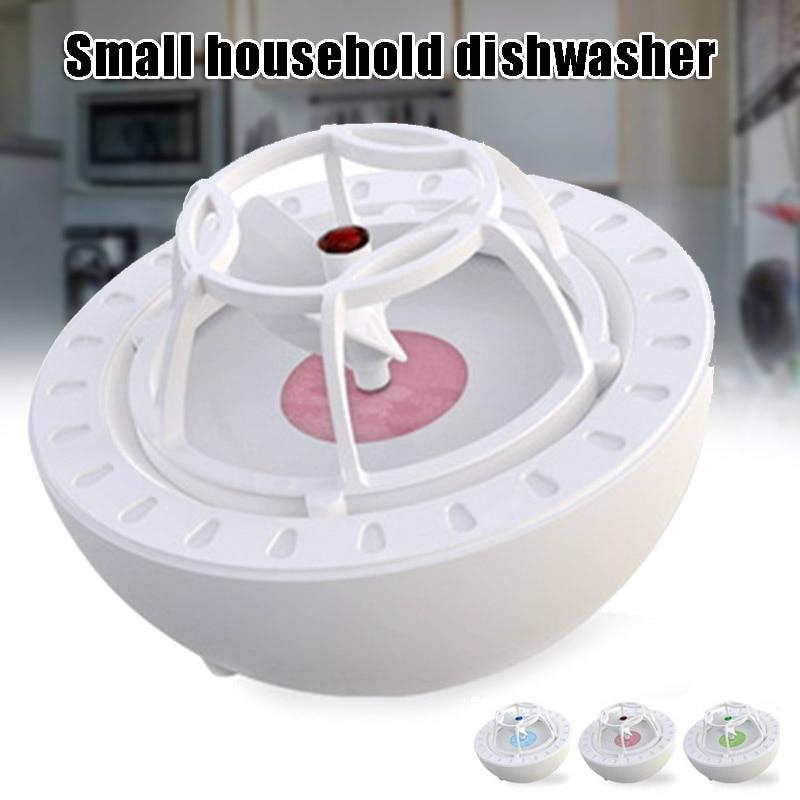 Mini lavavajillas portátil USB recargable de alta presión ola lavavajillas limpiador cocina Surf lavavajillas HUG-ofertas
