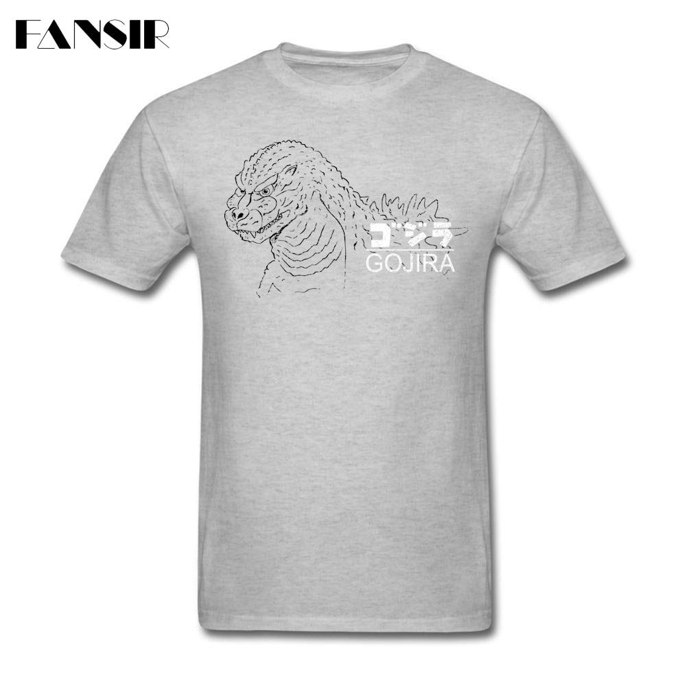 Últimas Camisas do T Dos Homens Gojira a Animação Algodão Em Torno Do Pescoço T-shirt de Manga Curta Para O Sexo Masculino Encabeça Tee