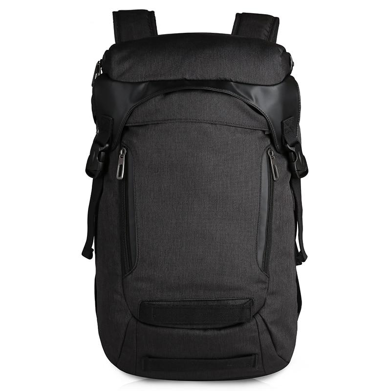 CAI-حقيبة ظهر كبيرة متعددة الجيوب للسفر ، حقيبة ظهر للكمبيوتر المحمول مقاومة للماء للمراهقين