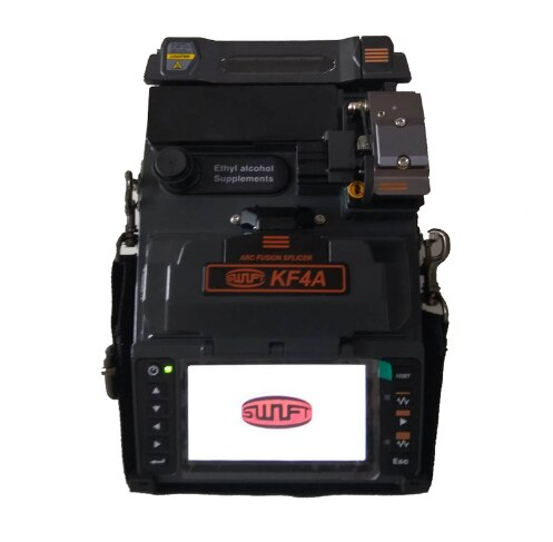 Empalmador de fusión de fibra ILSINTECH Swift KF4A v-groove Alignment Handheld Fiber Splicing machine con Pelacables
