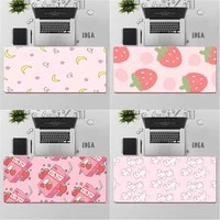gaming mouse pad large mouse pad pc gamer computer mouse mat big mousepad keyboard desk mat xxl carpet cute anime pink mause pad