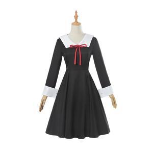 Anime Fujiwara Chika Cosplay Costume Wigs Girl School Uniforms Suit Shinomiya Kaguya Sama Love Is War Women Party Dress C50C11