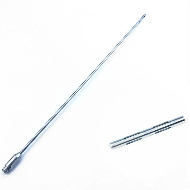 Cánula de liposucción de seis orificios maleable para cirugía plástica para herramientas de transferencia de grasa de células madre